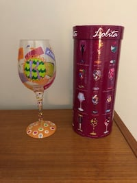 Lolita Letter 'K' Wine Glass Chesapeake, 23321