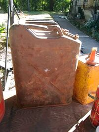 Old 1950 military gas can 764 mi