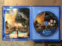 Assassin's creed Origin - a good condition game with no scratches and a very good price Rennesøy, 4150