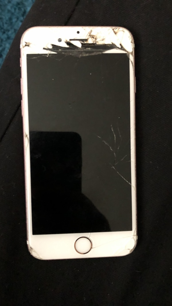 check out 5a67a 0f653 Broken Apple IPhone 6s screen damage