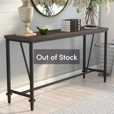 """62"""" Console Table"""