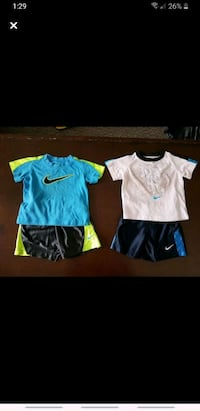NIKE 12 MONTHS SHORTS OUTFITS Coquitlam, V3B 7L4