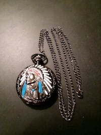 AMERICAN INDIAN POCKET WATCH