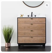 Never used/still in box : Bathroom Vanity Boston