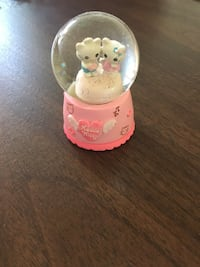 Pink and white Hello Kitty water globe Rockville, 20852