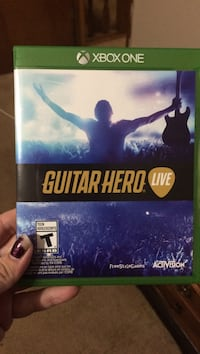 Xbox One Guitar Hero Live game case