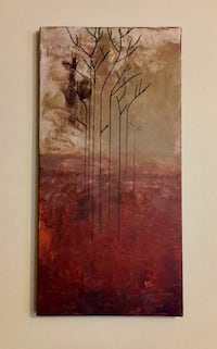 Abstract Original Painting Lake Zurich, 60047
