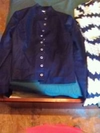 blue and black button-up jacket Prince Frederick, 20678