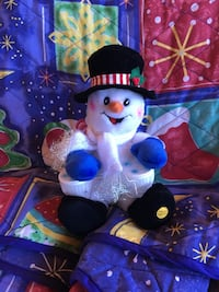 Snowman that plays drums that light up Bakersfield, 93312