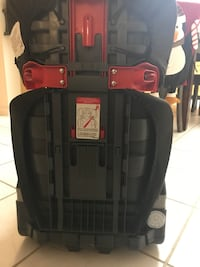 Back detachable car booster seat.