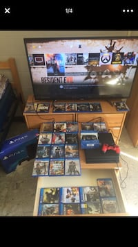 PS4 Pro with 2 controllers and 29 games San Clemente, 92672