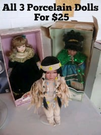 Three Porcelain Dolls For $25 Norfolk, 23503