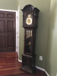 brown wooden grandfather's clock Linganore, 21774