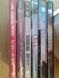 several DVD cases Barrie, L4M 7B2