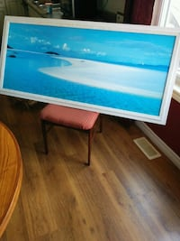 Ocean Photography in beautiful white wood frame Arthur, N0G 1A0
