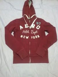 Maroon AERO zip up sweater Corpus Christi