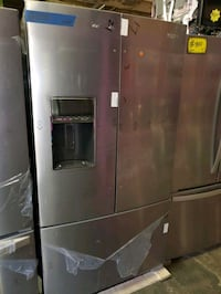 W. French doors fridge NEW scratch and dent  Baltimore, 21223