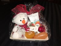 Fruity Christmas gift basket