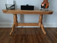 Solid wood side table console sideboard. Mississauga, L5E