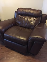 A fine real leather throne for your deserving behind Oakville
