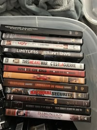 Assorted DVD movie case lot South Frontenac, K0H