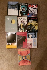 Small comic collection, TPB, indie and Batman plus bonus Rogue Sacramento, 95834