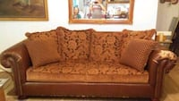 brown fabric 2-seat sofa Lubbock, 79423