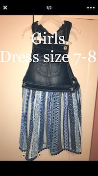 Girls new dress size 7/8  Concord, 94519