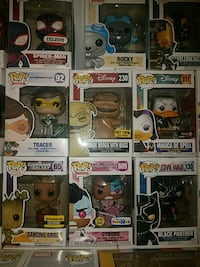 nine Pop ! vinyl figures Gaithersburg, 20877