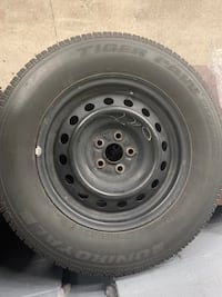 4 tire ice and snow 215/70R15 King, L0G 1T0