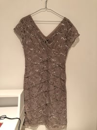 Party dress old gold color. Used just once  Toronto, M6J 3K6