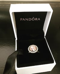 Pandora Ring with pink stone  Vaughan, L4L 8R1