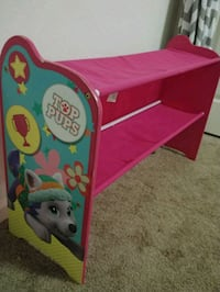 pink and purple Disney Frozen themed bed frame Norfolk, 23505