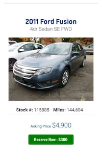 Ford - Fusion - 2011 47 km