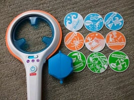 Smart scan learning toy