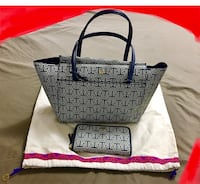 Authentic Tory Burch set (bag and wallet)in very good condition.  New Westminster, V3M