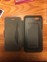 Otter box phone case with wallet slip