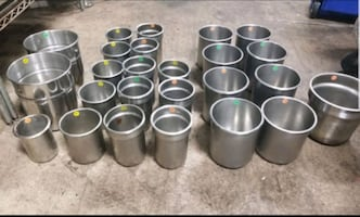 $5-$15 each Soup Inserts Stainless Steel Container
