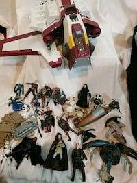 STAR WARS ACTION FIGURES 2064 mi