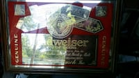 black and red Budweiser poster Hedgesville, 25427