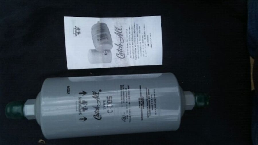 2 Catch All Liquid filters type C-305 driers.  fe4bda43-e503-48df-84de-4829dc7ea0f8