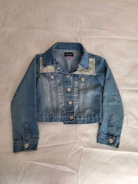 blue denim button-up jacket Owings Mills, 21117