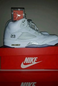 Air Jordan 5 Premium Metallic Whites Abbotsford, V4X
