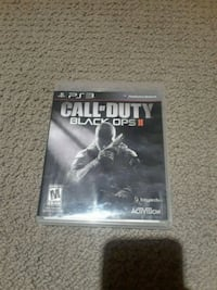 Call of Duty Black Ops 2 PS3 game case Toronto, M4J 2K7