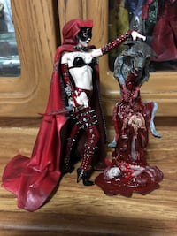 McFarlane Monsters Twisted Fairy Tales Red Riding Hood Complete Figure Edmonton, T5A 4S4
