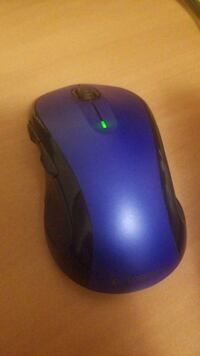 black and blue cordless mouse Newton, 02464