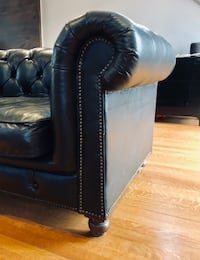 Restoration Hardware Kennsington Leather Soda Alexandria, 22314