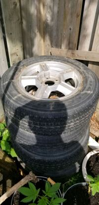 Tires and mag wheels  Laval