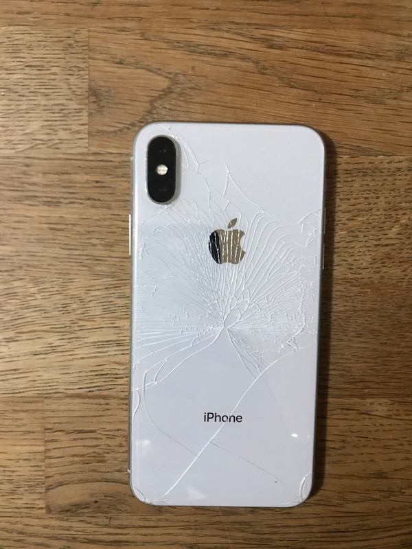 designer fashion 38b7d 718f6 iPhone X (Rear Glass Cracked & Digitizer not working )