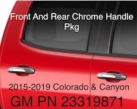 2015-2019 Colorado & Canyon chrome handle kit  Indian Head, 20640